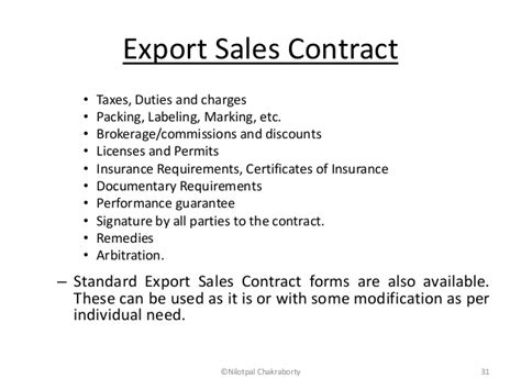 documents for imports and exports