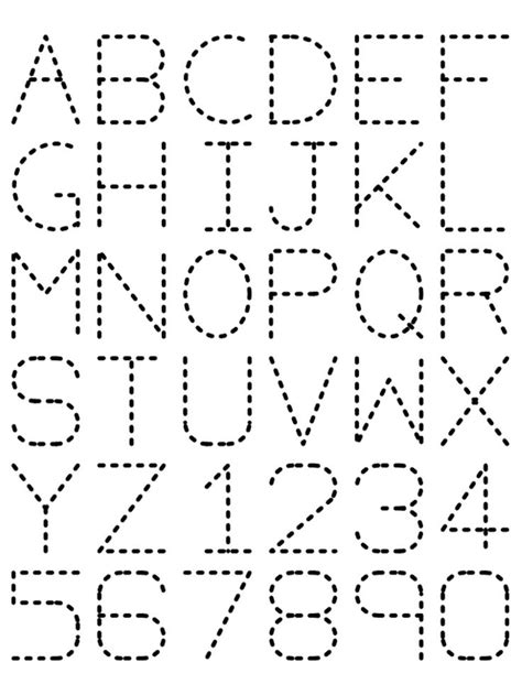 Alphabet Tracing Worksheets Az by Traceable Alphabet Preschool Activities