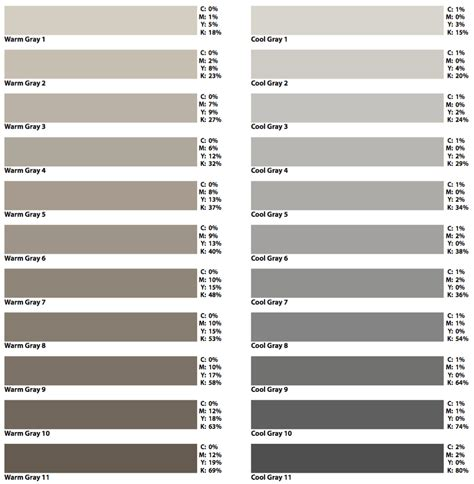 shades of grey color chart prepress two cents 22 shades better cpc