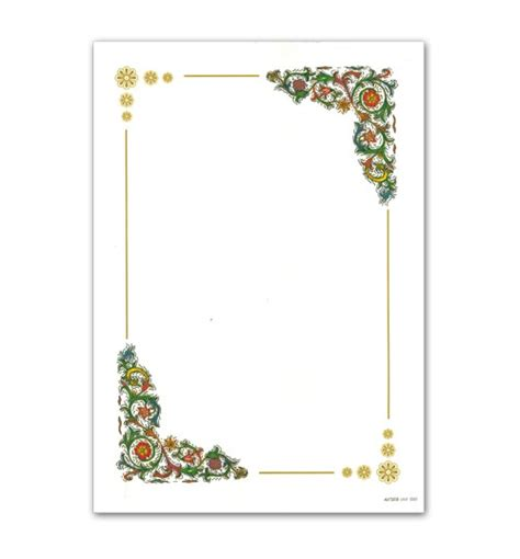 cornici fiori diplomi 21x29 n 5 cornice angoli con fiori