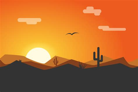wallpaper 4k vector wallpaper sunset desert minimal hd 4k creative