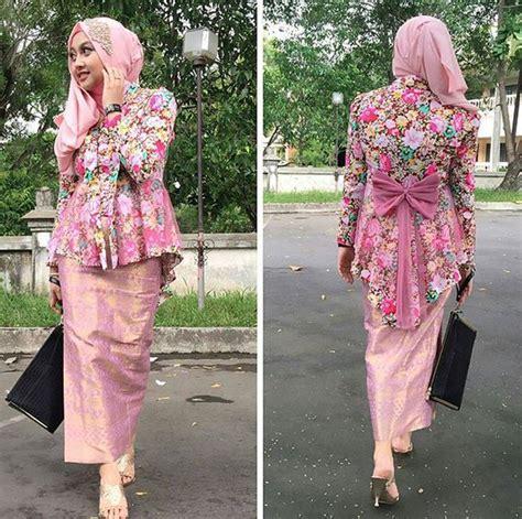model jilbab untuk kebaya wisuda info kebaya modern
