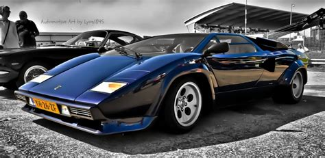 Lamborghini Countach Black Black Lamborghini Countach