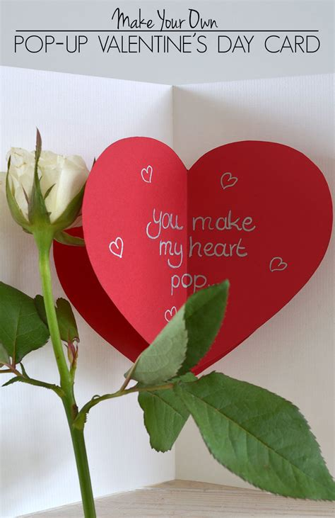 who made up valentines day 32 attractive handmade card ideas