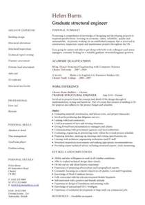 Cv Template Engineer Engineering Cv Template Engineer Manufacturing Resume Industry Construction