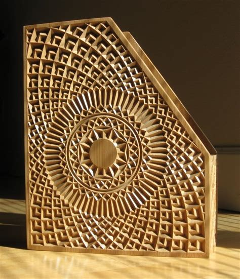 Imported Kitchen Cabinets by Wood Carving A Winning Magazine Holder With A Cnc