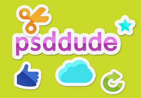 tutorial design sticker create a sticker in photoshop photoshop tutorial psddude
