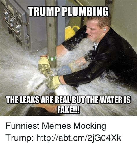Plumbing Meme - do you think there will be a tipping point in the media