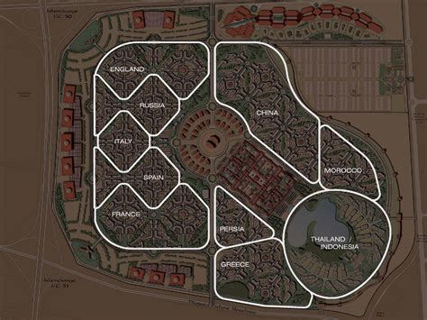 International Lookup International City Floorplans Masterplan