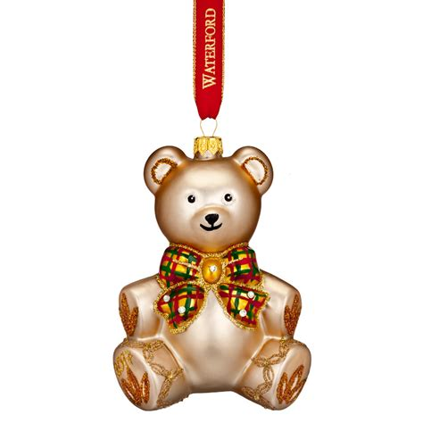 waterford baby s first christmas 2017 nostalgic teddy