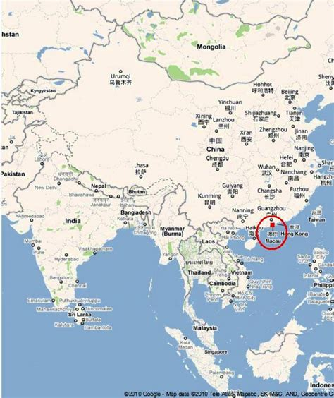 where is macau located on the world map where is macau located on the world map 28 images