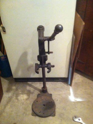vintage black decker bench drill press  stand