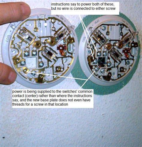 honeywell t87f thermostat wiring diagram wiring diagram