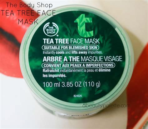 Masker Tea Tree Shop the shop tea tree mask review price a palette
