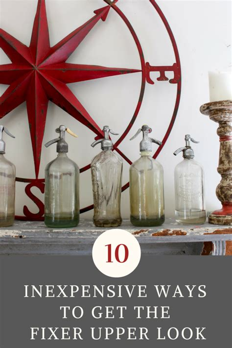 cheap ways to decorate 10 inexpensive ways to decorate and get the fixer upper
