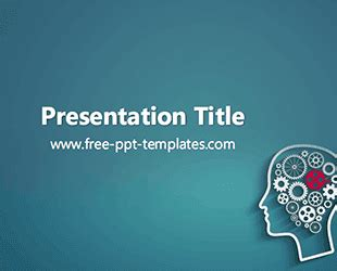 Psychology Ppt Template Free Powerpoint Templates Psychology Presentation Template