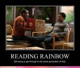 Reading Meme - reading rainbow randomoverload