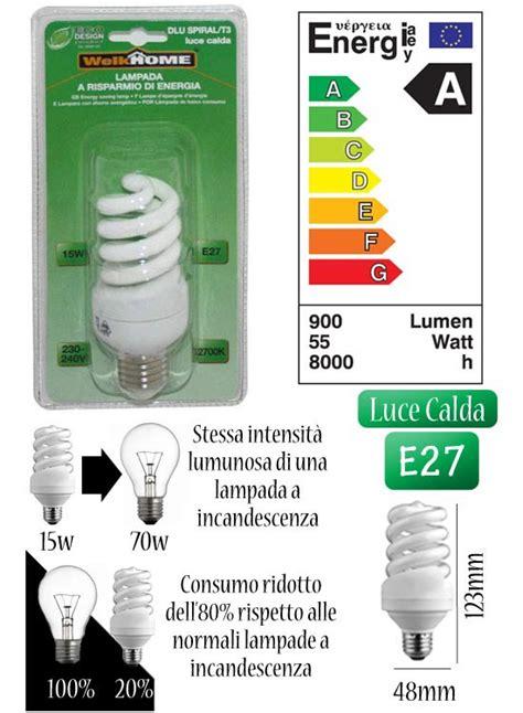 lade a risparmio energetico luce calda scrivi una recensione