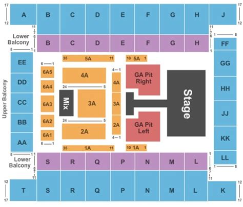 knoxville civic coliseum seating knoxville civic coliseum tickets in knoxville tennessee