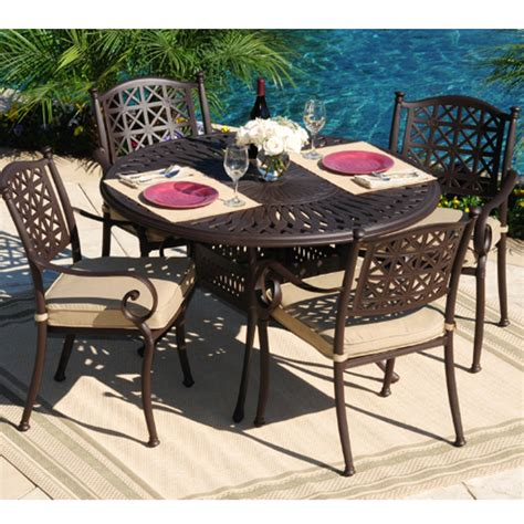Hollywood All Weather Cast Aluminum Outdoor Furniture Best Cast Aluminum Patio Furniture