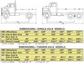 Heavy Duty Truck Tire Size Chart 1969 Dodge Heavy Duty Trucks