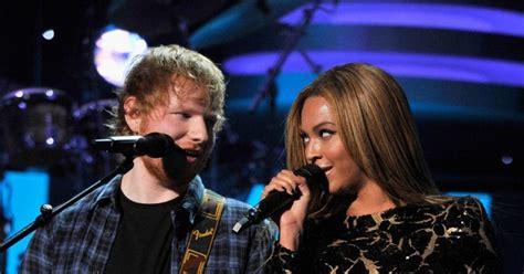 ed sheeran brands beyonce duet beyonce duet with ed sheeran at stevie event