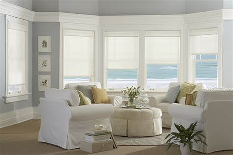 Bow Windows Curtains roller shades the popular window covering south central