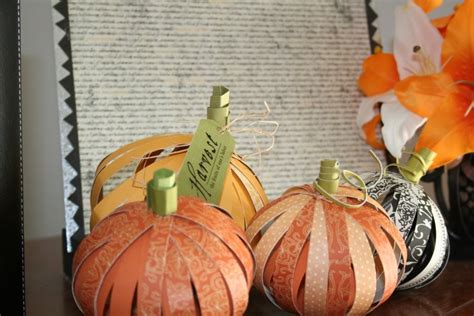 How To Make A Pumpkin Out Of Paper - make mine lime fall pumpkin tutorial