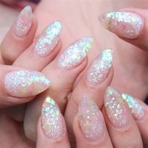 Glitter Nail by 17 Best Ideas About Glitter Gel Nails On Gold