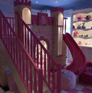 Tamara ecclestone builds pink and purple castle themed