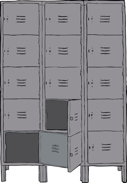 lockers clip art  clkercom vector clip art