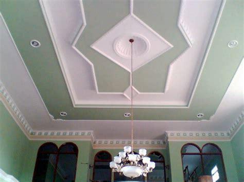 desain plafon ruang tamu cantik renovasi rumahnet