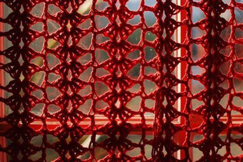 lace curtain patterns crochet curtain pattern 10 beautiful free crochet curtain