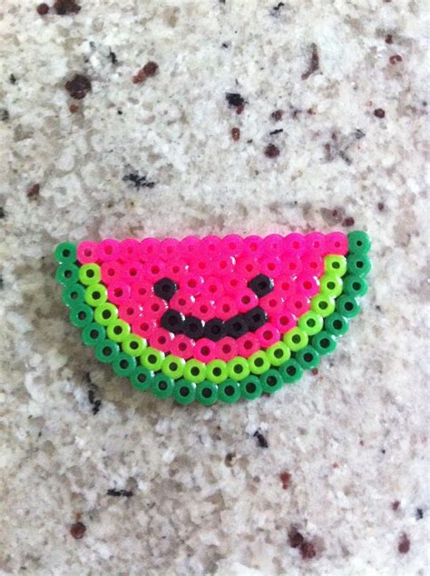 perler watermelon perler watermelon would probably do without the