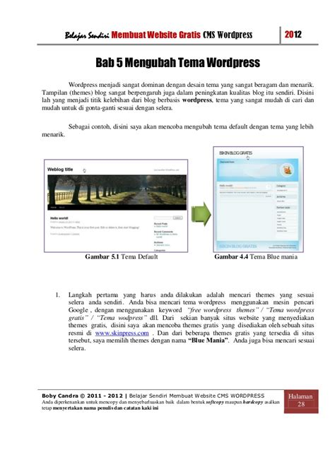 membuat website org gratis cara membuat website gratis
