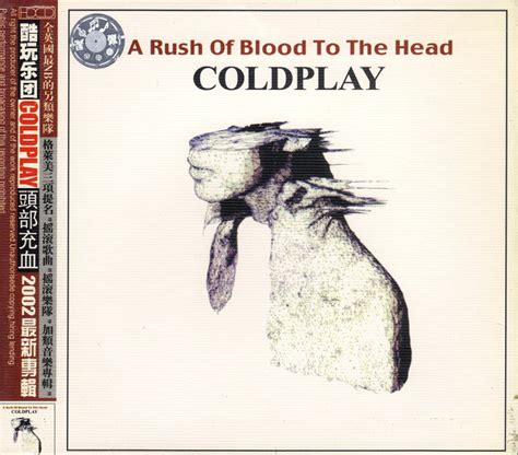 coldplay rush of blood to the head coldplay a rush of blood to the head cd album at discogs