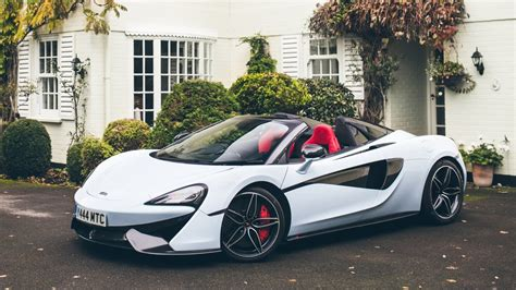 Posh Home Interior Muriwai White Mclaren 570s Spider Has Deep History Roots