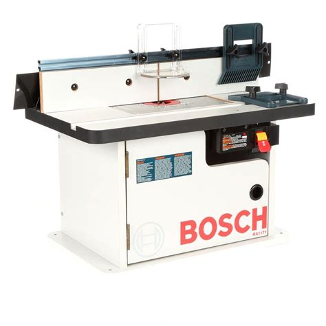 bosch router table ra1171 bosch benchtop laminated router cabinet style table with 2
