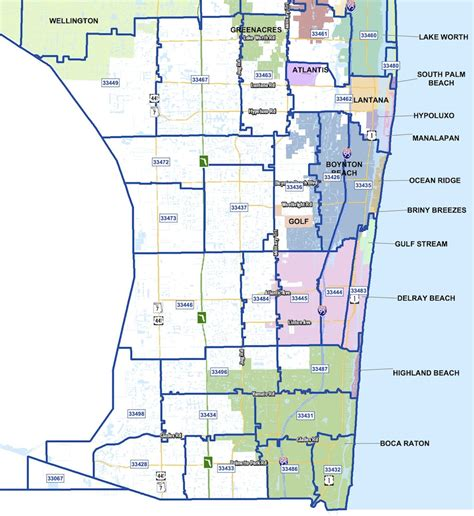 zip code map jupiter fl west palm beach map with zip codes zip code map
