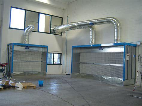 cabine di verniciatura a secco prima impianticabine di verniciatura