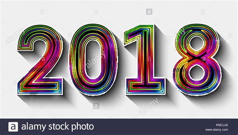 new year design 2018 new year 2018 vector vectors stock photos new year 2018
