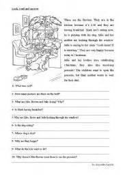 english teaching worksheets reading comprehension