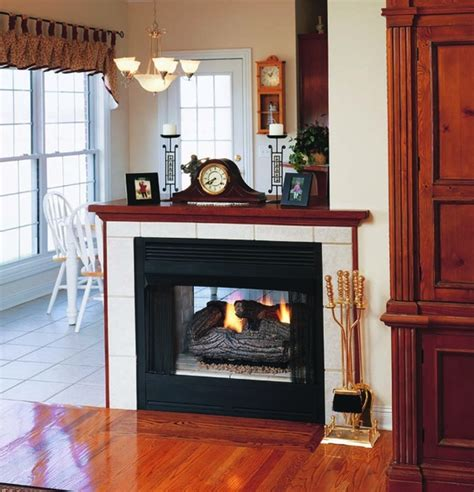 See Through Ventless Gas Fireplace by Superior 36 Quot Vent Free See Thru Firebox Smooth Faced