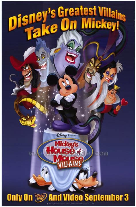 mickey house of villains mickey s house of villains movie posters from movie poster shop