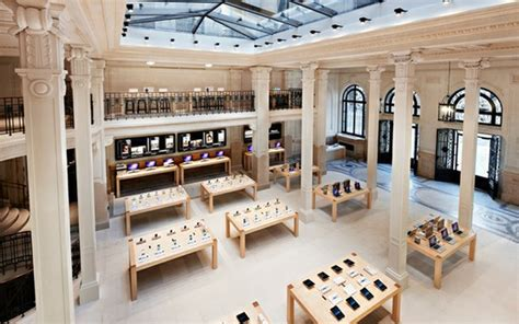 home design stores in paris tres chic apple store home atelier turner the design blog interior architecture and