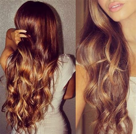 golden brown hair summer 2014 on pinterest golden brown hair gorgeous long brown layers with golden blonde highlights