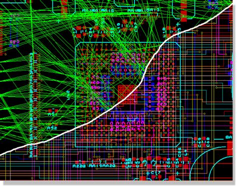 pcb layout design exles computer aided design cad software herdware com