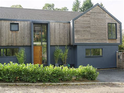 Wood Cladding House Contemporary House Kate Stoddart Architect