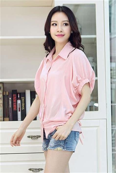 busana kerja wanita semi formal blouse