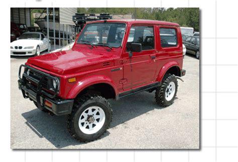 Suzuki Lightning Conversions Repower Your Suzuki Samurai With A V6 Or V8 Engin E